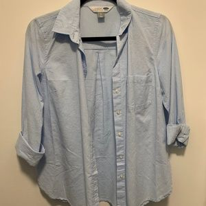 Classic Old Navy Light Blue Blouse